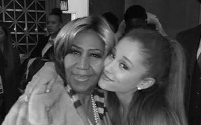 Ariana Grande and late 'Queen of Soul' Aretha Franklin. Picture: @arianagrande/Instagram