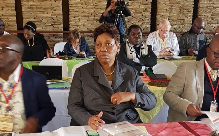 FILE: Basic Education Minister Angie Motshekga. Picture: @SAgovnews/Twitter