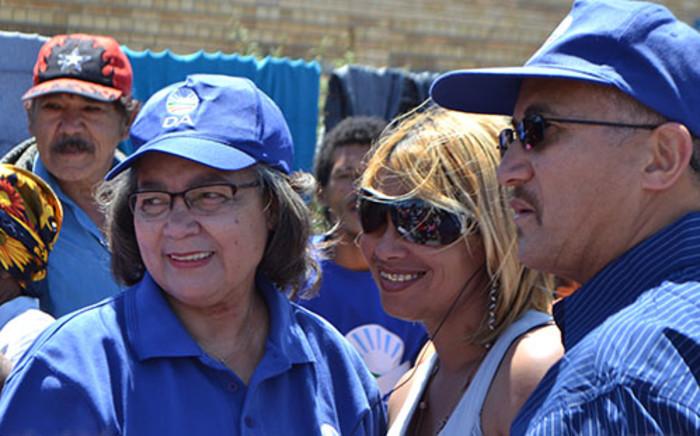 Cape Town Mayor Patricia de Lille visits a voting station on 9 November 2013. Picture: Renee de Villiers
