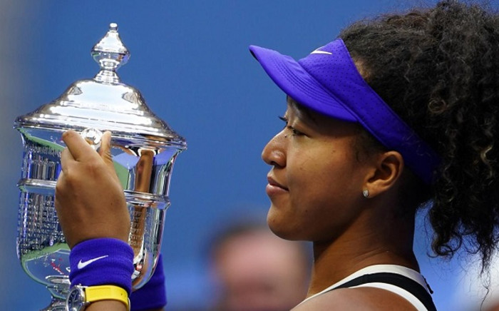 Naomi Osaka of Japan celebrates with the trophy after winning her Women's Singles final match against Victoria Azarenka of Belarus on Day Thirteen of the 2020 US Open at the USTA Billie Jean King National Tennis Center on 12 September 2020 in the Queens borough of New York City. Picture: @usopen/Twitter