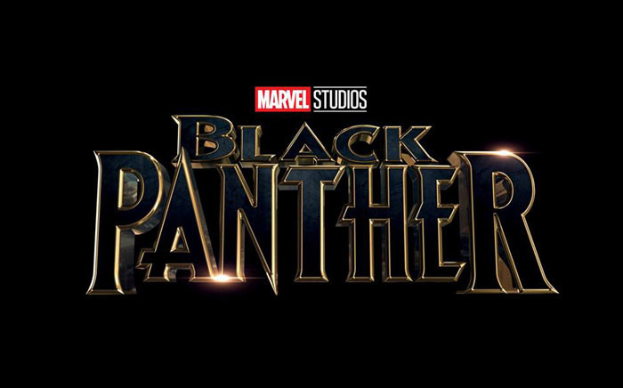 Black Panther movie logo. Picture: Facebook official page.