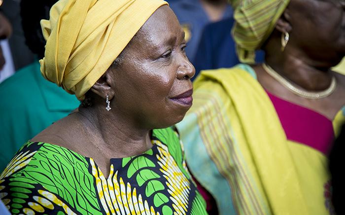 FILE: Former African Union (AU) chairperson Nkosazana Dlamini-Zuma pictured at OR Tambo International Airport in Johannesburg on 15 March 2017. Picture: EWN