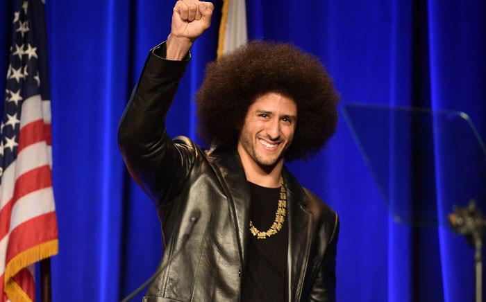 Colin Kaepernick. Picture: AFP