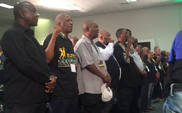 FILE: Umkhonto we Sizwe veterans have gathered at a national council in Nasrec to discuss the unity within the ANC movement. Picture: Ziyanda Ngcobo/EWN