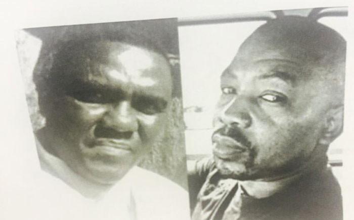 FILE: Daniel Zwane and Michael Letsosa. Picture: Dineo Bendile/EWN.