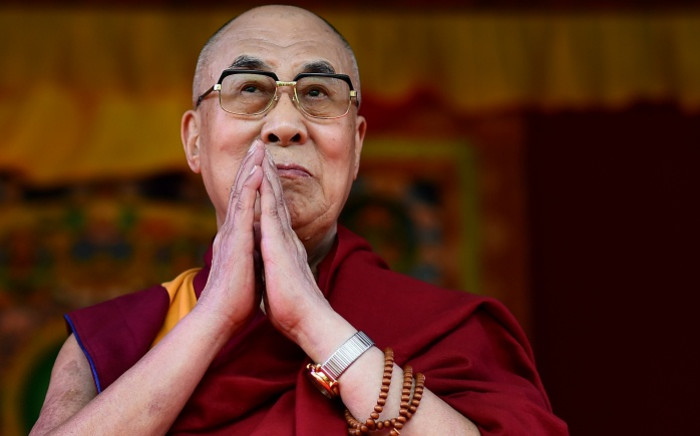 The Dalai Lama  Picture: AFP.