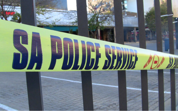 FILE: Police tape closes off a crime scene. Picture: EWN.