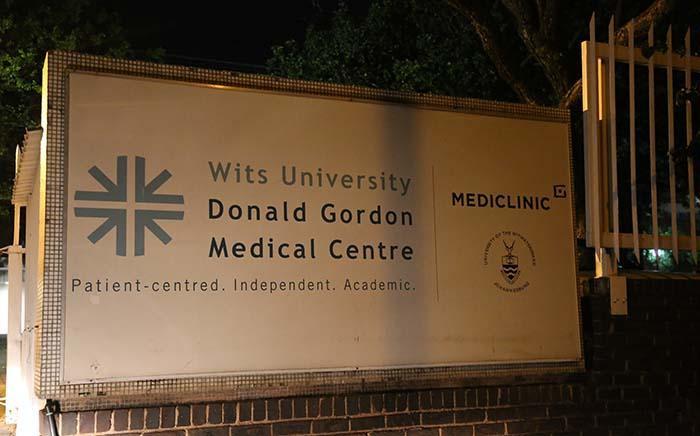The Donald Gordon hospital in Parktown.  Picture: Christa Eybers/EWN