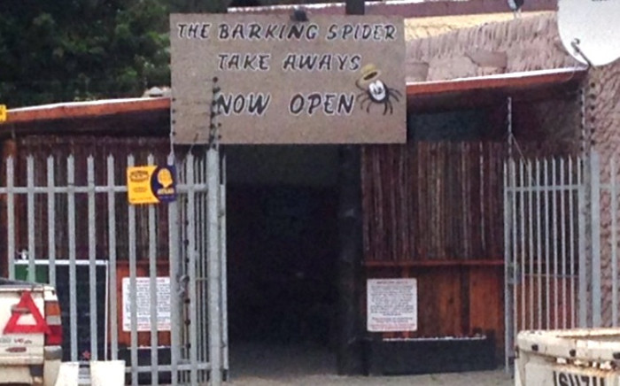The Barking Spider, the Steenkamp family's pub in Port Elizabeth. Picture: Vumani Mkhize/EWN.