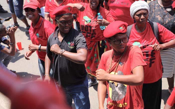 FILE: EFF members. Picture: Abigail Javier/EWN