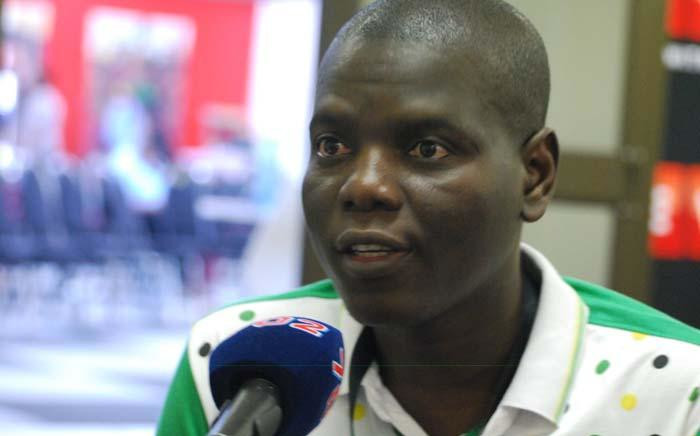FILE: Former ANC Youth League leader Ronald Lamola speaks to Radio 702 at the ANC national conference in Nasrec on 17 December 2017. Picture: Radio 702