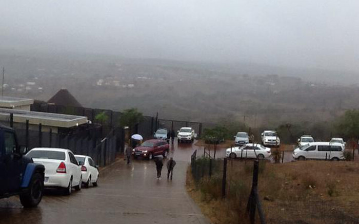 Parliament's ad-hoc committee in Nkandla where they conducted an in-loco inspection of President Jacob Zuma's private home in rural KwaZulu-Natal. Picture: Rahima Essop/EWN.