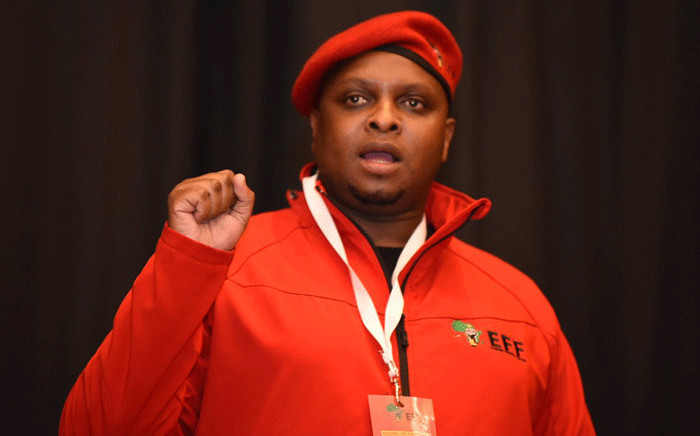 FILE: EFF chief whip Floyd Shivambu. Picture: @EFFSouthAfrica/Twitter