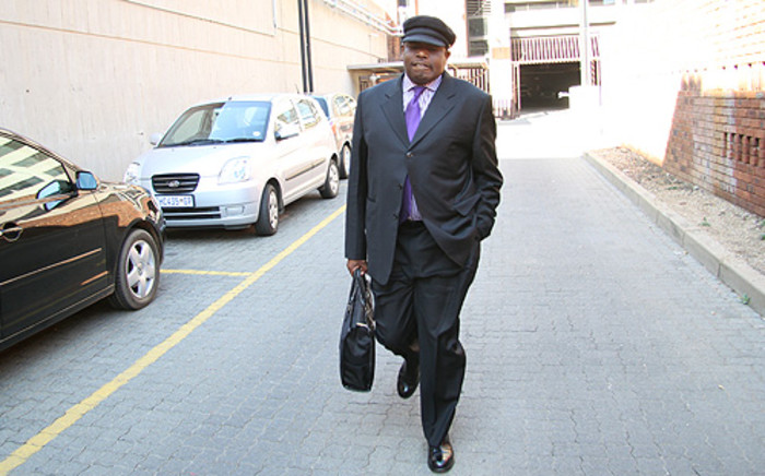 Suspended Tshwane metro police chief Ndumiso Jaca. Picture: Taurai Maduna/EWN.