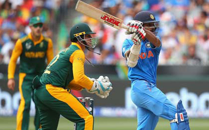 Shikhar Dhawan scored 137 off 146 balls against Proteas at the Melbourne Cricket Ground on 22 February 2015. Picture: Supplied