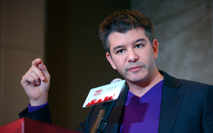 Uber co-founder Travis Kalanick. Picture: AFP