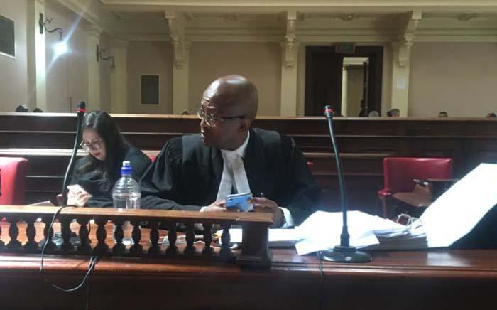 Dudu Myeni's lawyer Ncebayethu Buthelezi at the High Court in Pretoria on 2 December 2019. Picture: Edwin Ntshidi/EWN