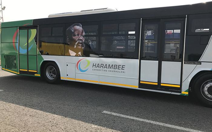 New Ekhuruleni Bus rapid transit bus Harambee. Picture: Supplied.