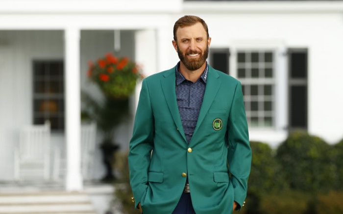 Dustin Johnson won the US Masters at Augusta on 15 November 2020. Picture: @TheMasters/Twitter