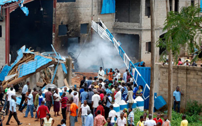 FILE: Gunmen killed 16 people when they fired on worshippers at a church in Nigeria's central Kogi state during an evening service on 7 August 2012. Picture: Supplied.
