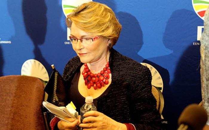 DA leader Helen Zille at a press conference in Rosebank on 3 February 2014. Picture: Sebabatso Mosamo/EWN.