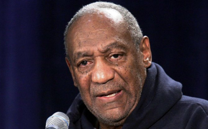 """FILE: Dr. Bill Cosby moderates a town hall meeting titled """"A Conversation with Bill Cosby,"""" at Wayne Community College in Detroit, Michigan on Thursday 13 January 2005. Picture: EPA."""