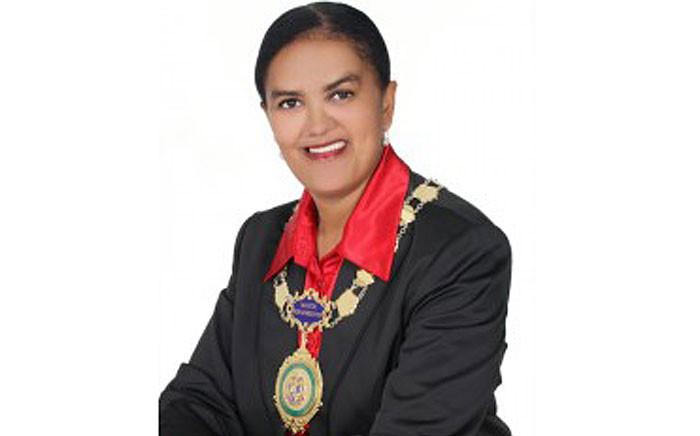 Knysna mayor Georlene Wolmarans. Picture: knysna.gov.za