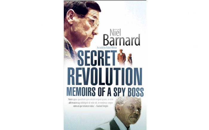 Secret Revolution – 'Memoirs of a Spy Boss' book. Picture: NB Publishers