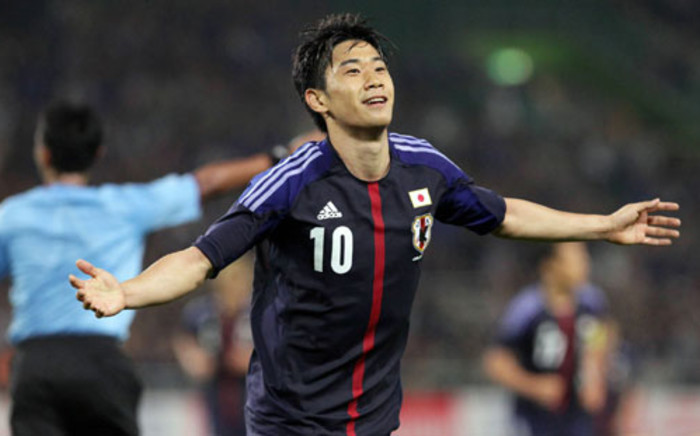 File: Shinji Kagawa became the first Asian player to score a Premier League hat-trick with the Japan midfielder's stunning display inspiring runaway leaders Manchester United to a 4-0 win over Norwich City. Picture: AFP