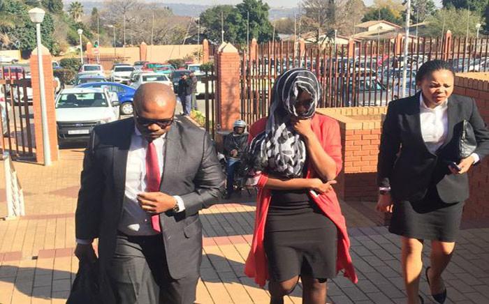 FILE: Sindisiwe Manqele has applied for bail after allegedly killing her boyfriend Nkululeko Habedi. Picture: Govan Whittles/EWN.