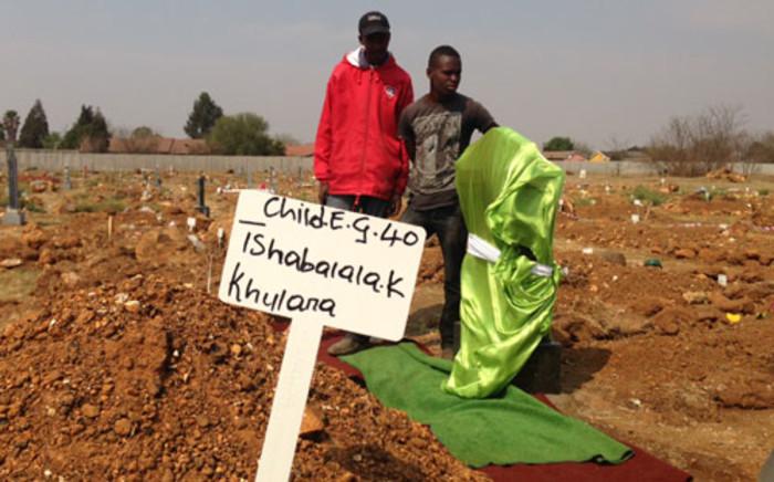 FILE: Keabetswe Tshabalala's funeral took place at the Thomas Titus Nkobi cemetery in Germiston. Picture: Sebabatso Mosamo/EWN