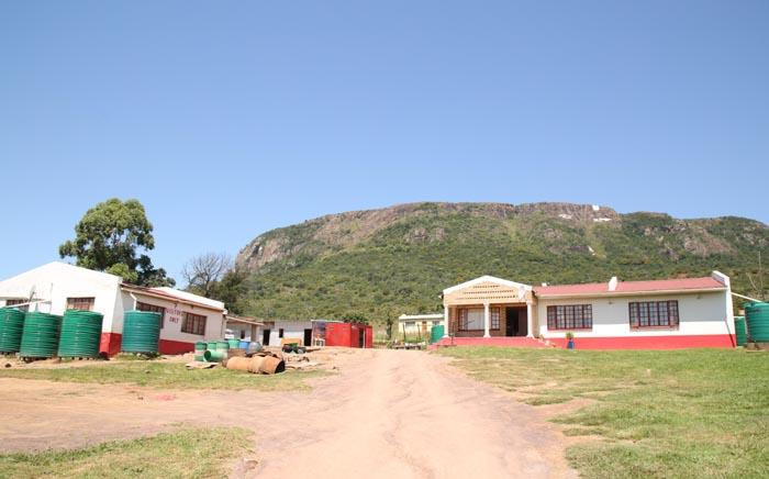 The houses belonging to the Mancoba Seven Angels Ministries Church. Picture: Bertram Malgas/EWN