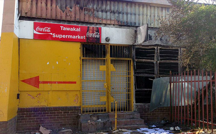 Residents at an informal settlement in Langlaagte have told EWN how a foreign shop owner started shooting randomly at community members after he suspected that someone had stolen from his store. Picture: Gia Nicolaides/EWN
