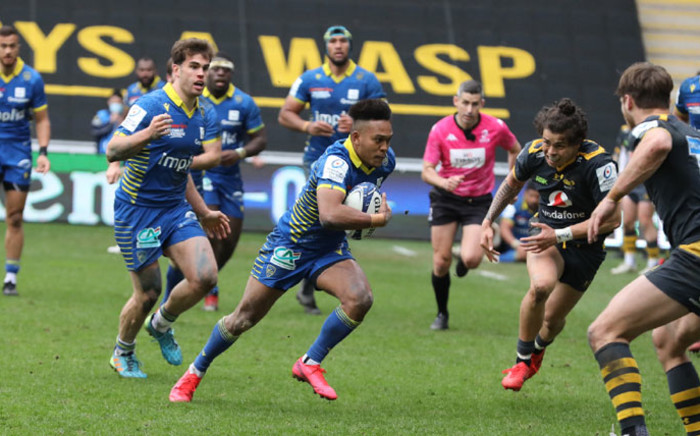 Clermont came from behind to beat Wasps 27-25 in the European Champions Cup round-of-16 on 3 April 2021. Picture: @ASMOfficiel/Twitter