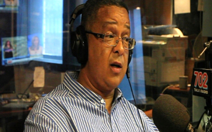 Robert McBride at the 702 studios.