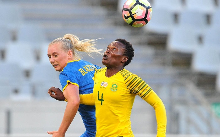 Banyana Banyana vs Swedan at the Cape Town Stadium on 22 January 2019. Picture: @SasolLeague/Twitter
