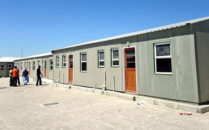 RDP houses in Delft, Cape Town. Picture: EWN