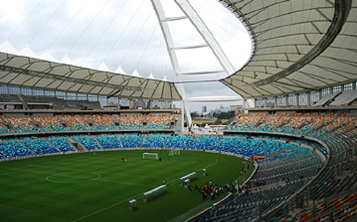 Moses Mabhida Stadium in Durban will host Afcon matches.