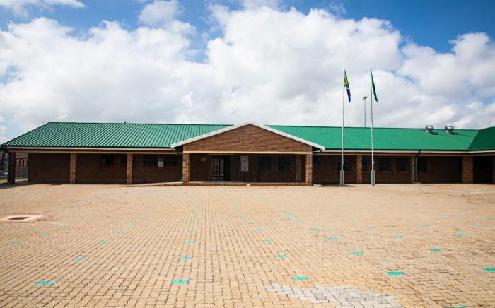 The revamped Abram Hlophe Primary School in Katlehong in Gauteng was opened on 15 February 2021. Picture: Xanderleigh Dookey Makhaza/Eyewitness News
