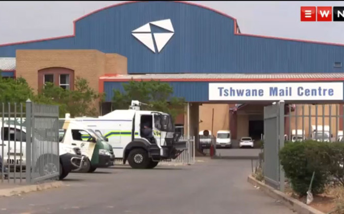 The Tshwane Mail Centre in Johannesburg. Picture: Vumani Mkhize/EWN