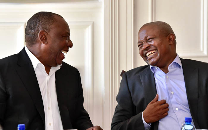 President Cyril Ramaphosa and his Deputy David Mabuza. Picture: GCIS.