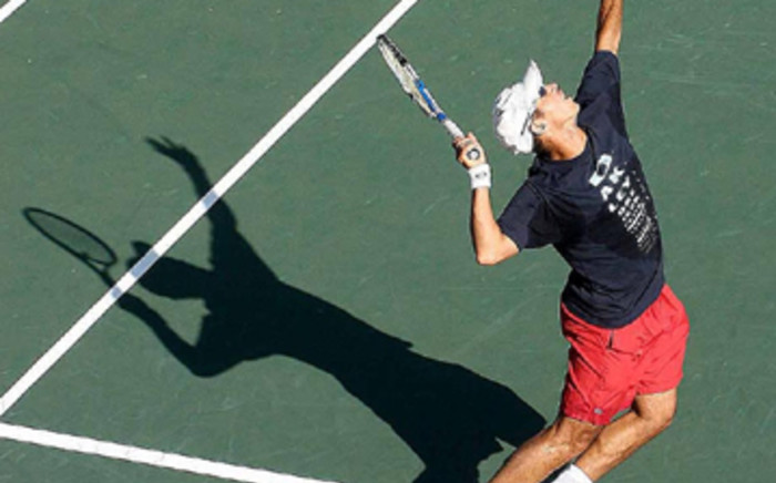 Tennis player in action. Picture: SAPA