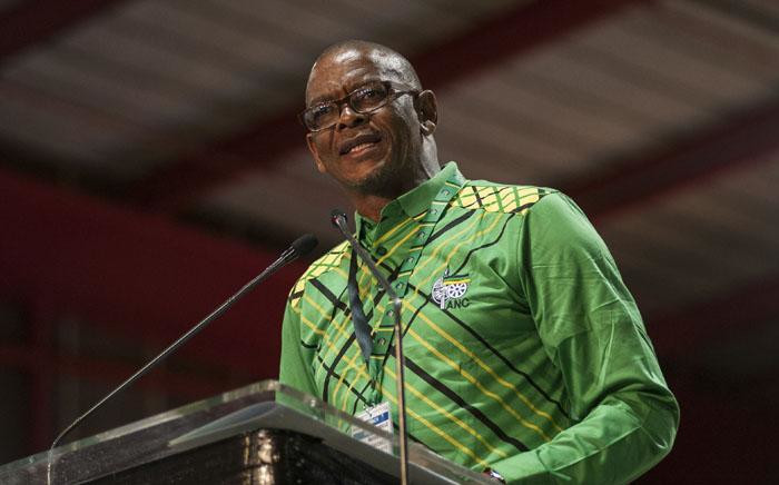 ANC secretary-general Ace Magashule addressing the closing of the ANC's 54th elective conference. Picture: Ihsaan Haffejee/EWN