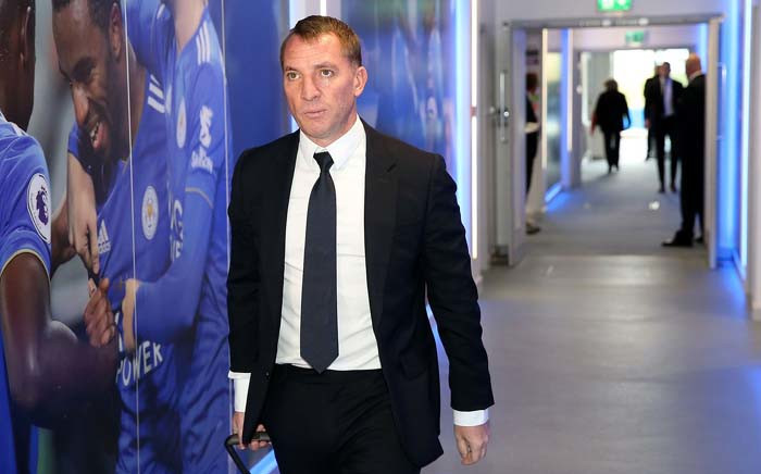 Leicester City manager Brendan Rodgers. Picture : @LCFC/Twitter.