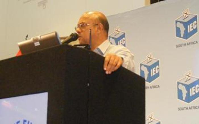 Western Cape Electoral Officer Reverend Courtney Sampson. Picture: Janine Willemans/EWN