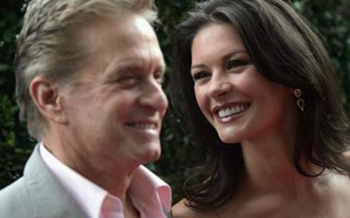Michael Douglas and Catherine Zeta-Jones married in 2000 and have two children. Picture: AFP