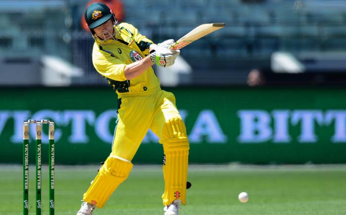 FILE: Australia's George Bailey plays a shot during the third match of the one-day international cricket series between Australia and New Zealand at the MCG in Melbourne on 9 December 2016. Picture: AFP