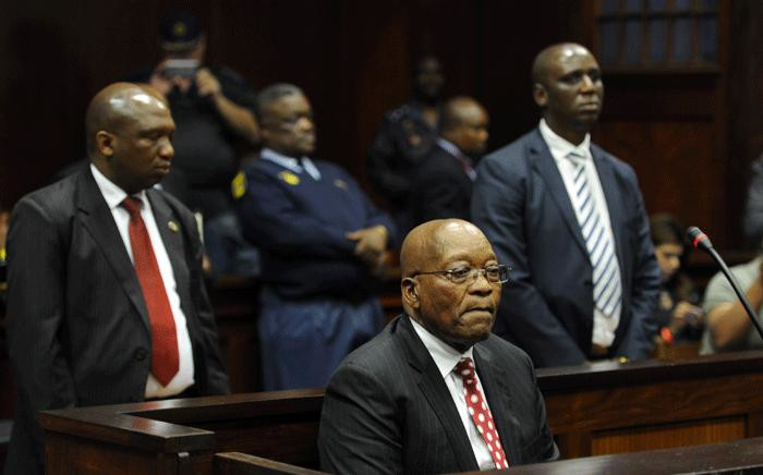 FILE: Former South African President Jacob Zuma appeared in the Durban High Court on 8 June 2018. He is charged with 16 counts that include fraud' corruption and racketeering.. Picture: Felix Dlangamandla /Pool