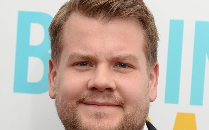 FILE: 'Late Late Show' star James Corden. Picture: AFP.
