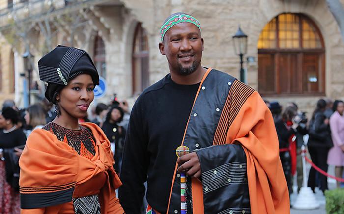 FILE: Chief Mandla Mandela and his wife Thando Mabuno-Mandela. Picture: GCIS.